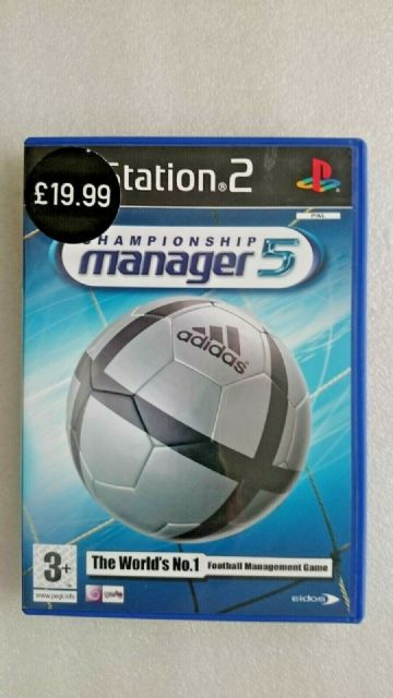 Championship Manager 5 (Sony, Playstation 2, 2004) - European Version
